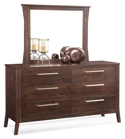 Conrad Grebel - Milbridge Six Drawer Dresser and Mirror - D80A/D80C