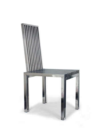 Control Brand - The Polished Stainless Steel Dining Chair - FHC08SS
