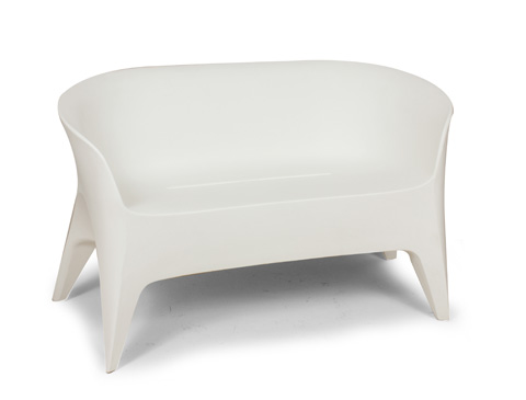 Image of The Tuxedo Outdoor Love Seat