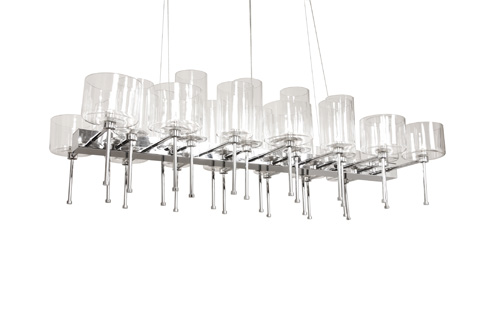 Control Brand - The Ostersund Chandelier - LS1127S26