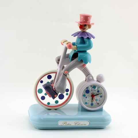 Control Brand - Moving Peter Clown Alarm Clock - C2036