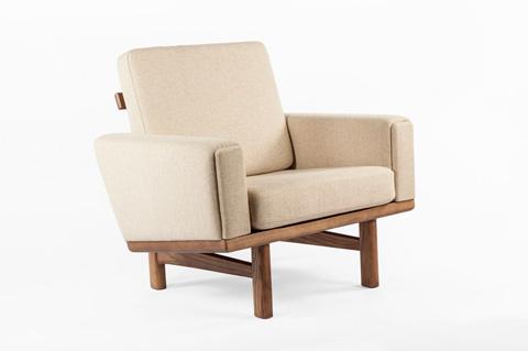 Control Brand - The Geleen Lounge Chair - FEC1239BEIGE