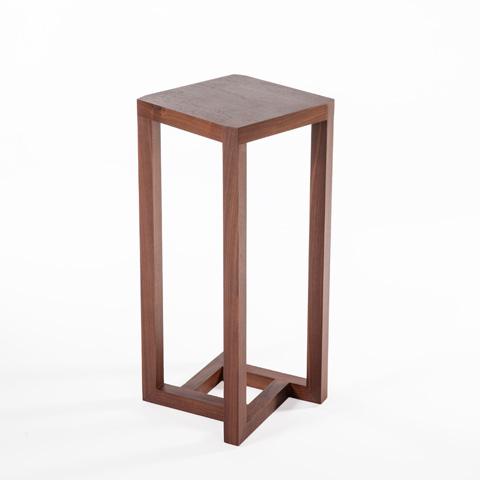 Control Brand - Bergen Pedestal Table - FET3041WALNUT