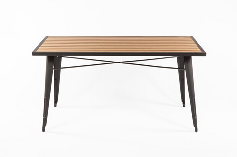 Control Brand - Good Form French Outdoor Table - FKT002NATURAL