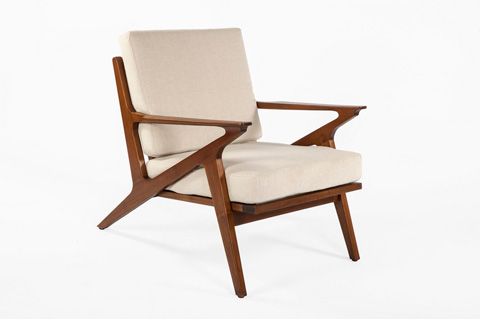 Control Brand - The Tamholt Lounge Chair - FL1310BGE