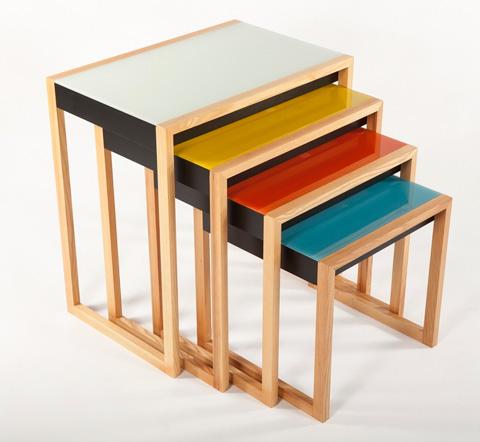 Control Brand - The Bayer Nesting Table Set - FLT1301CLR