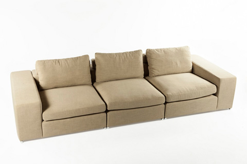 Control Brand - The Chioggia Sectional - FQS011GREY