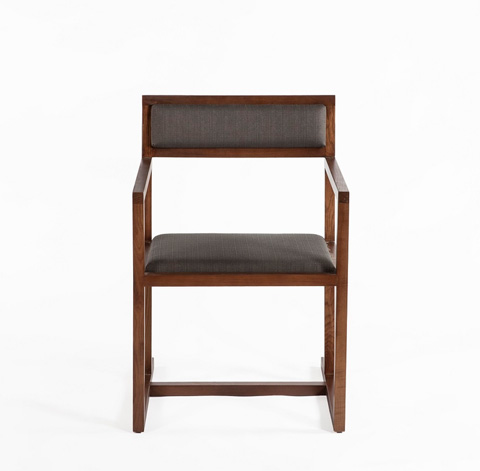 Control Brand - The Bogen Arm Chair - FSC003DGREY