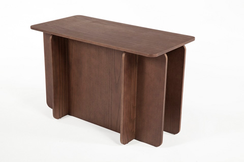 Control Brand - The House of Cards End Table - FST0042WALNUT