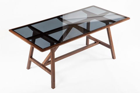 Control Brand - The Wolfe Table - FST008WALNUT