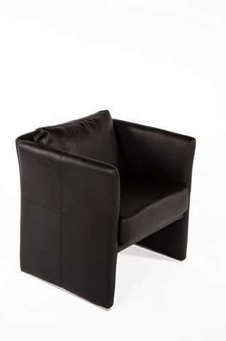 Control Brand - The Ullerslev Lounge Chair - FV210BLK
