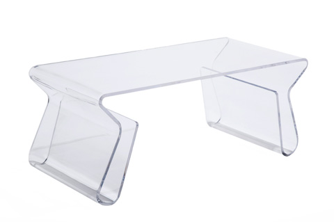 Control Brand - The Granada Coffee Table - FXT103CLEAR