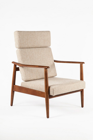 Image of The Aalborg High Back Chair