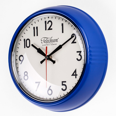 Control Brand - The CambridgeWall  Clock in Blue - G131410BLUE
