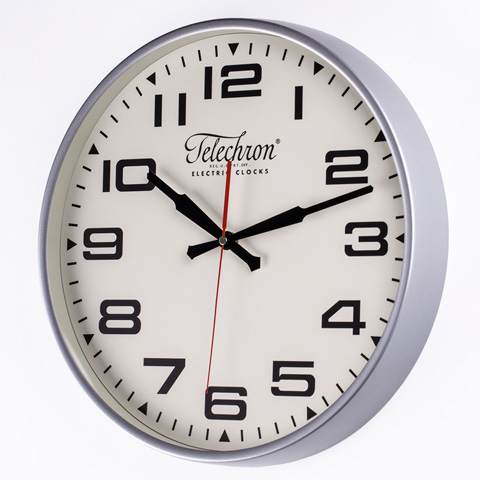 Control Brand - The Bedford Wall Clock in Silver - G131614SILVER