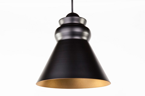 Control Brand - The Boden Pendant - LM3429PBLK