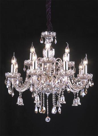 Control Brand - Stilnovo Crystal Pendant Lamp - P825512