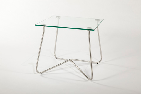 Control Brand - The Chania Outdoor End Table - FCT1363CLR
