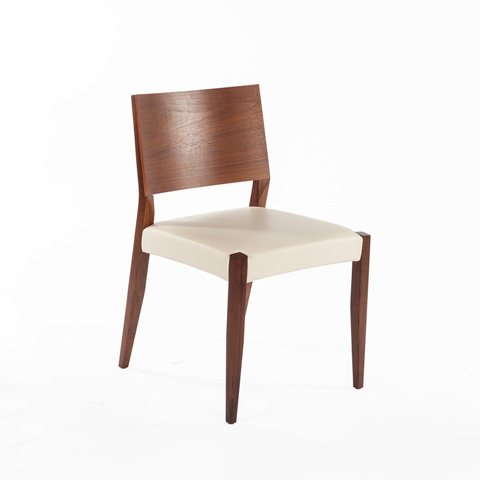 Control Brand - Risor Dining Chair - FEC6012CWHT