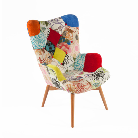 Control Brand - The Teddy Bear Chair - FF167PATCHF