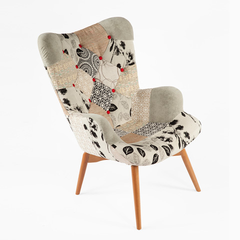 Control Brand - The Teddy Bear Chair - FF167PATCHG