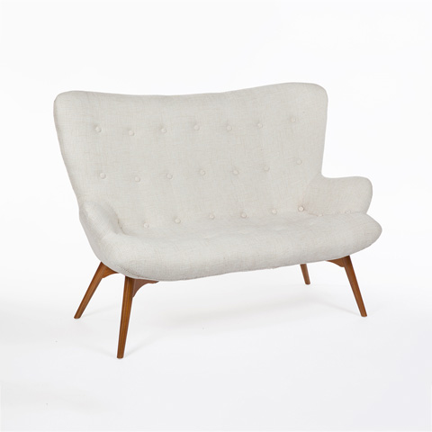 Control Brand - The Luxe Teddy Loveseat - FXC9172BGE
