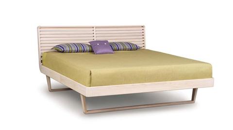Copeland Furniture - Contour Bed - Ash - 1-CTR-02