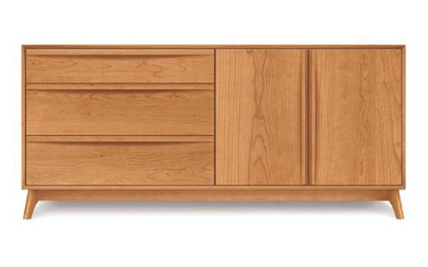 Copeland Furniture - Catalina Dresser - Cherry - 2-CAL-52-03