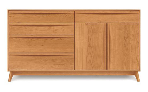 Copeland Furniture - Catalina 2 Door Dresser - Cherry - 2-CAL-72-03