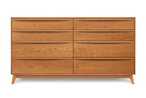 Copeland Furniture - Catalina 8 Drawer Dresser - Cherry - 2-CAL-80-03