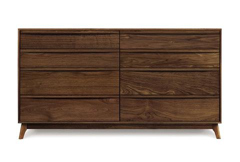 Copeland Furniture - Catalina 8 Drawer Dresser - Walnut - 2-CAL-80-04