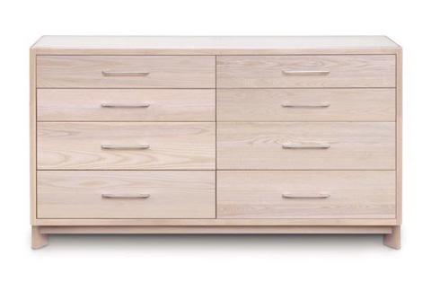 Copeland Furniture - Contour 8 Drawer Dresser - Soaped Ash - 2-CTR-80