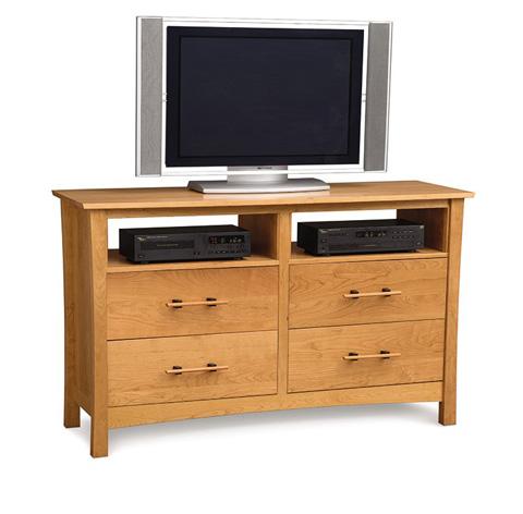 Copeland Furniture - Monterey 4 Drawer Wide TV Organizer - 2-MNT-46