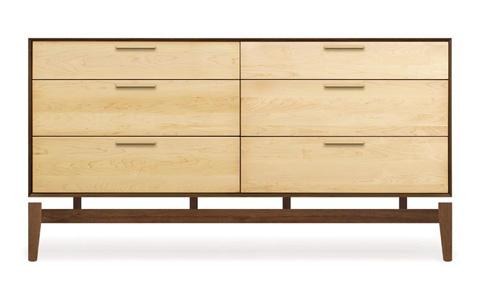 Copeland Furniture - Soho 6 Drawer Dresser - 2-SOH-60