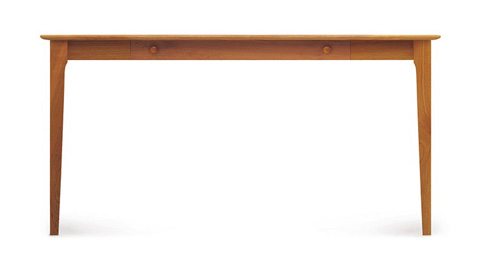 Copeland Furniture - Sarah Desk with Keyboard Tray - 3-SAR-11