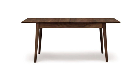 Copeland Furniture - Catalina Four Leg Extension Table - Walnut - 6-CAL-20-04