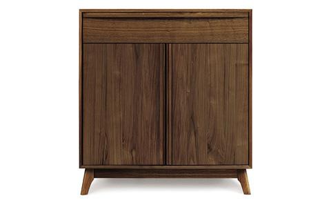 Copeland Furniture - Catalina 1 Drawer Buffet - Walnut - 6-CAL-30-04