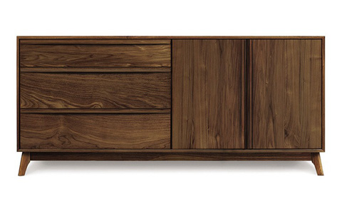 Copeland Furniture - Catalina Buffet - Walnut - 6-CAL-52-04