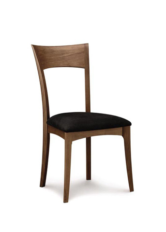 Image of Ingrid Upholstered Sidechair - Walnut