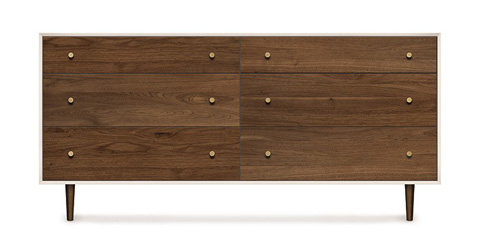 Copeland Furniture - MiMo Six Drawer Dresser - 2-MIM-60-14