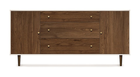 Copeland Furniture - MiMo Dresser - 4-MIM-50-14
