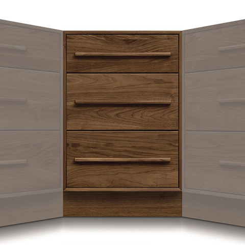 Image of Moduluxe Corner Case with Three Drawers