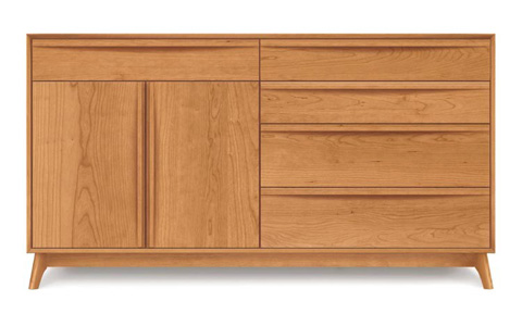 Copeland Furniture - Catalina Buffet in Cherry - 6-CAL-71