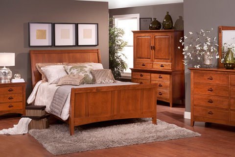 Country View Woodworking, Ltd - Three Drawer Nightstand - 100-504