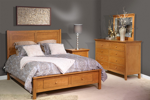 Country View Woodworking, Ltd - Tall Dresser - 300-510