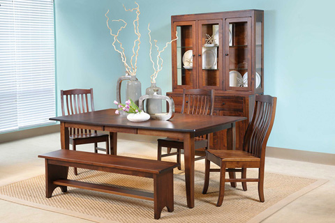 Country View Woodworking, Ltd - Buffet and Hutch - 33-5200