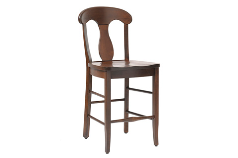 Country View Woodworking, Ltd - Side Counter Stool - DBC-03-24