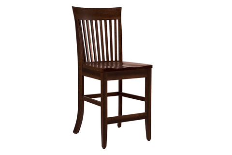 Country View Woodworking, Ltd - Side Counter Stool - DBC-05-24