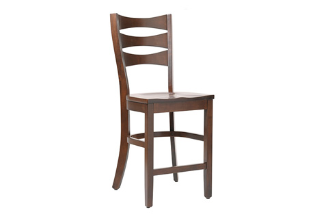 Country View Woodworking, Ltd - Side Counter Stool - DBC-09-24