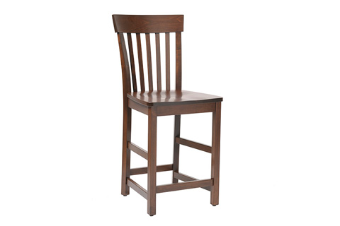 Country View Woodworking, Ltd - Side Counter Stool - DBC-10-24
